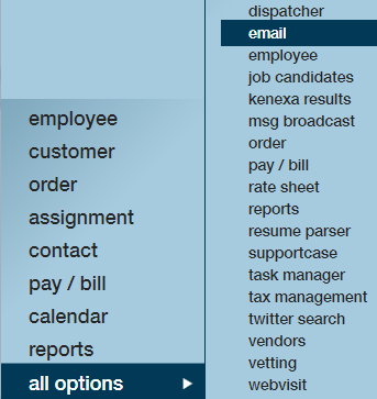 Email Functionality | TempWorks Knowledge Base
