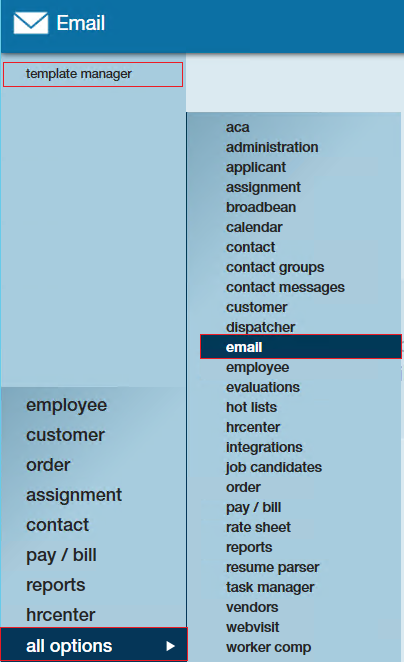 How to Set up and Utilize Email Templates | TempWorks Knowledge Base