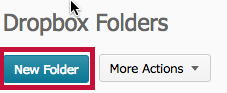 location of New Folder button