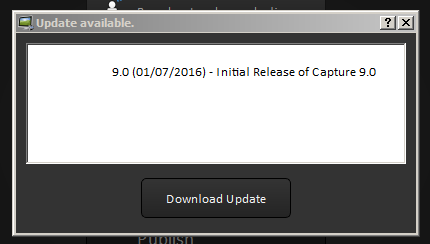 Shows Download Update button.