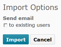 Shows Import button.