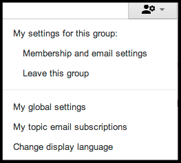 my settings button