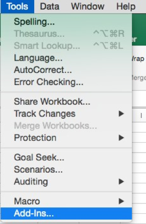 Is There A Quick Analysis Tool In Excel For Mac?