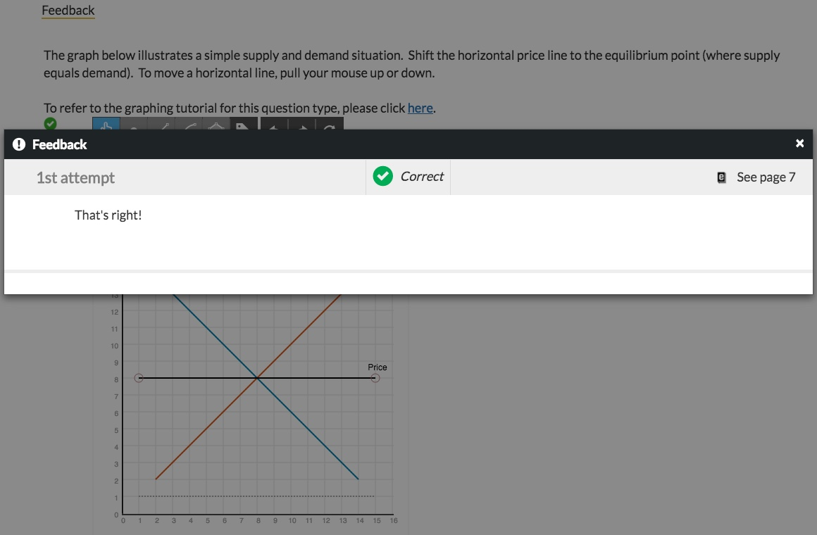 Economics graphing tool directions w w norton when you are satisfied with your answer click submit fandeluxe Gallery