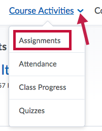 Shows Assignments