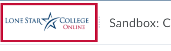Shows Lone Star College-Online logo
