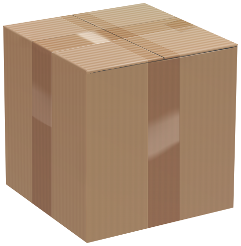 Cardboard Box Clip Art PNG Image - High-quality PNG Clipart Image in cattegory Cardboard Box PNG / Clipart from ClipartPNG.com