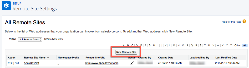 Salesforce Webhook step 2