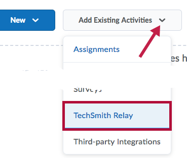 Identifies TechSmith Relay