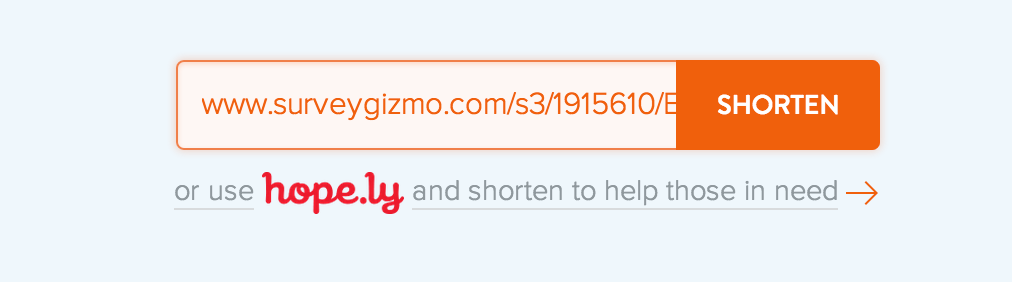 Using a URL Shortener