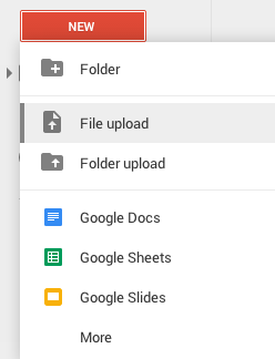 Google Drive - File Upload