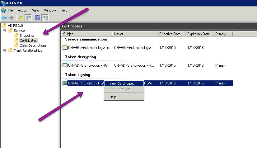 configure sso using active directory federation services adfs