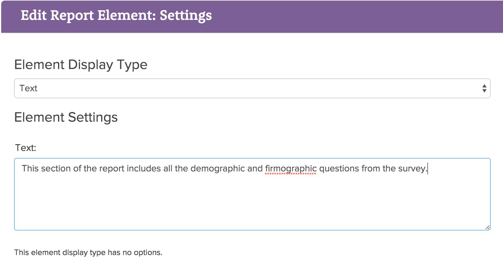 legacy summary report chart types | surveygizmo help