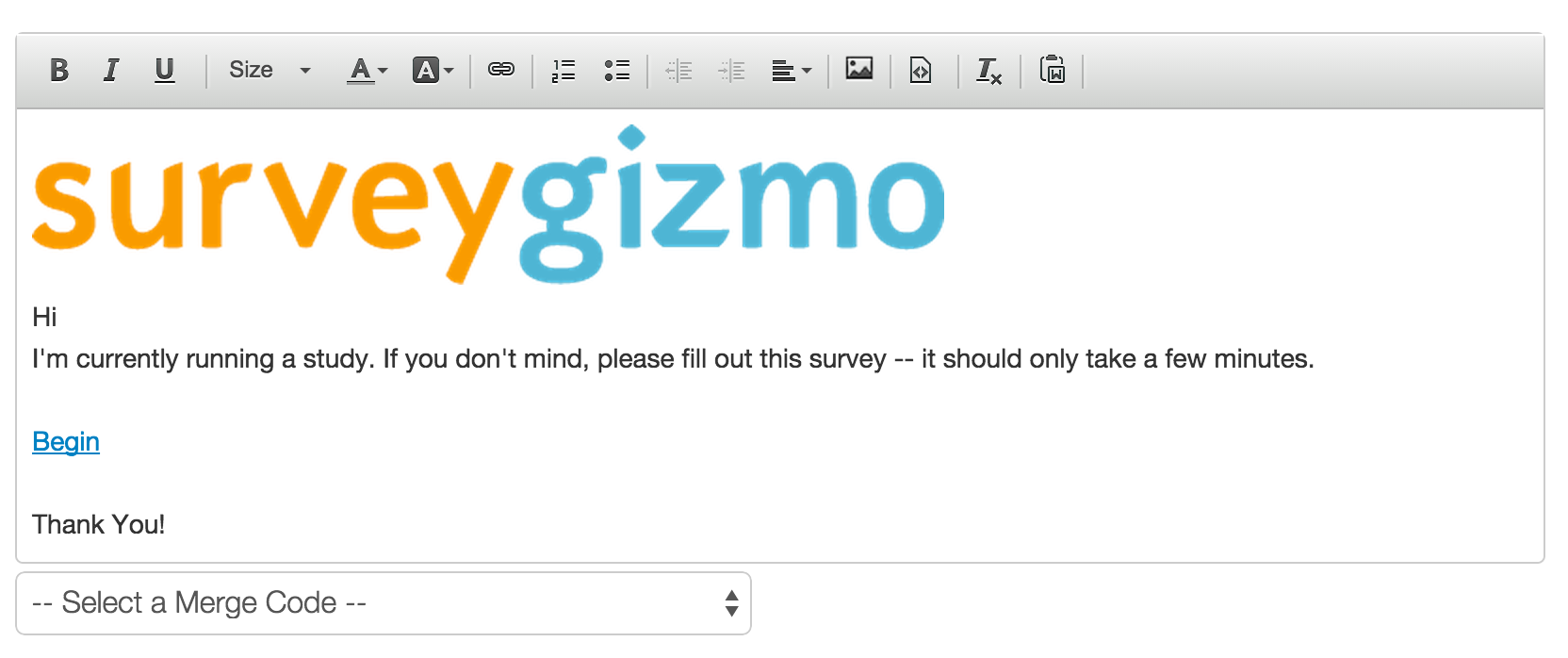 adding a logo to an email surveygizmo help
