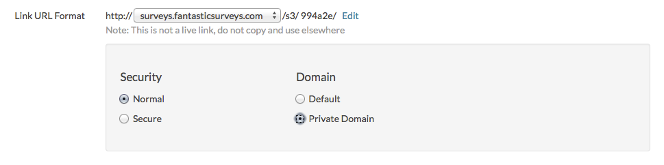 Set Up an Email Campaign to Use Private Domain