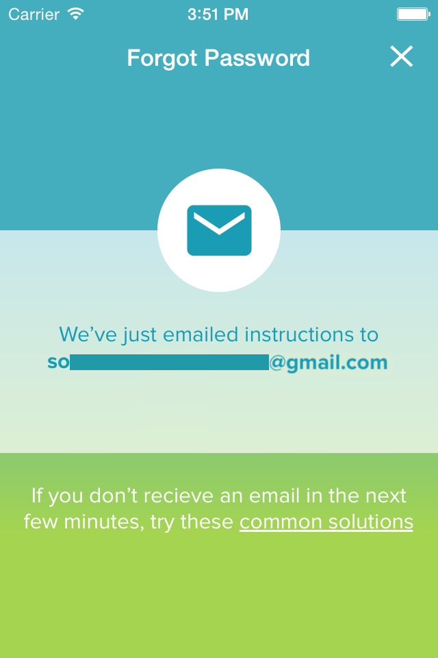 why can t i verify my email on the iphone app help center