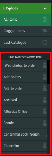 Favorite Galleries