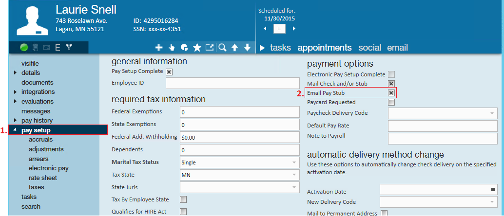 How to Email Pay Stubs | TempWorks Knowledge Base