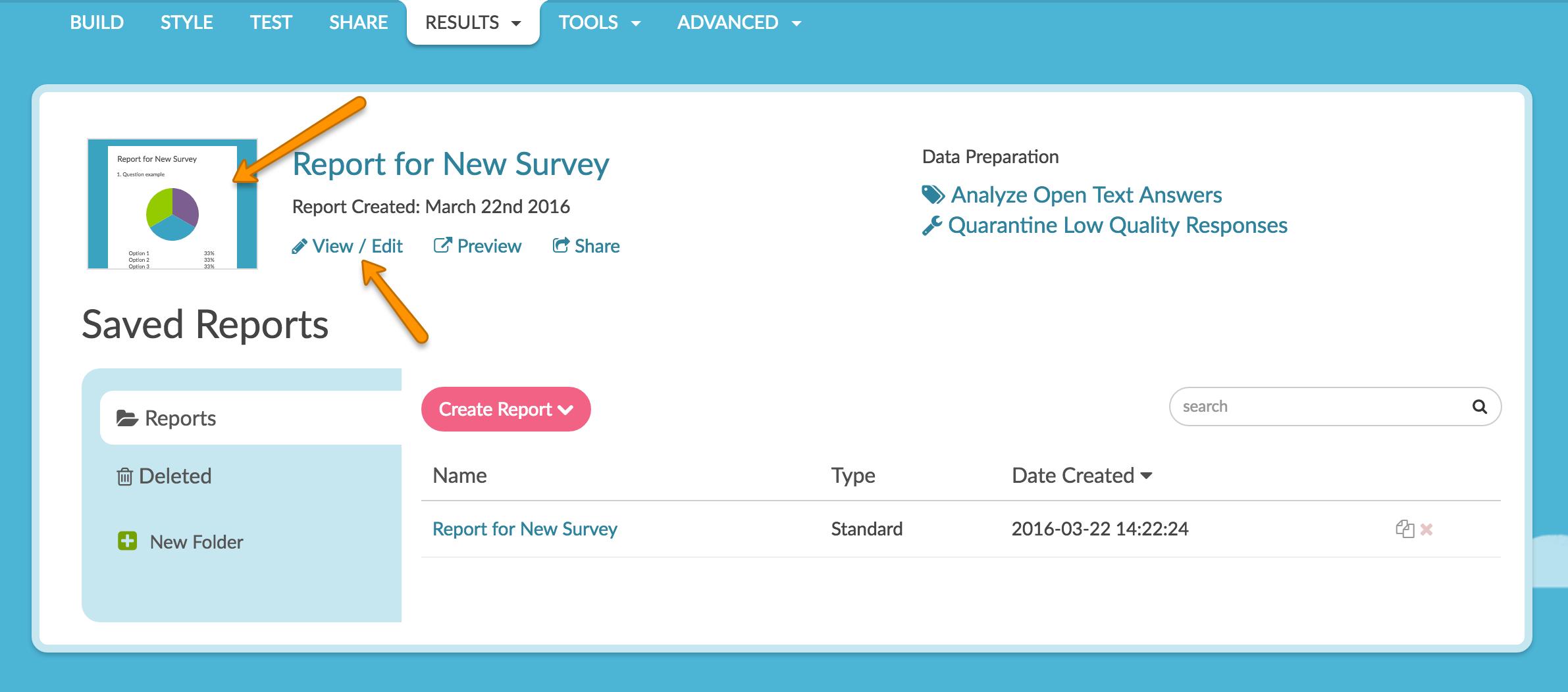 data report