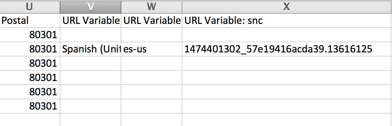 Save And Continue URL Variable In Exports