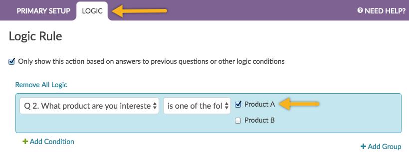 Redirect Respondents to a Website | SurveyGizmo | Help