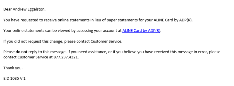 ADP ALINE Paycards TempWorks Knowledge Base - Adp open invoice help