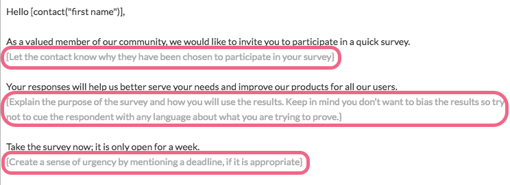 Send Your Survey Via Email: Message Tips