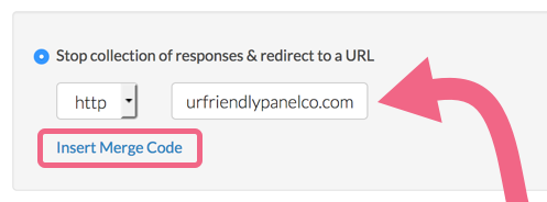Panel Integration: Add Redirect Link