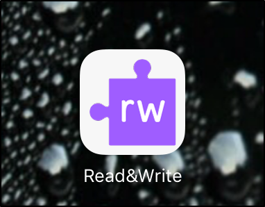 Read&Write for iPad icon