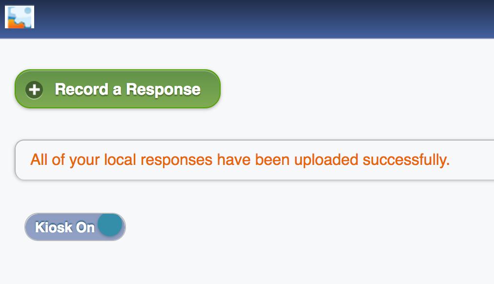 Successful Upload Message