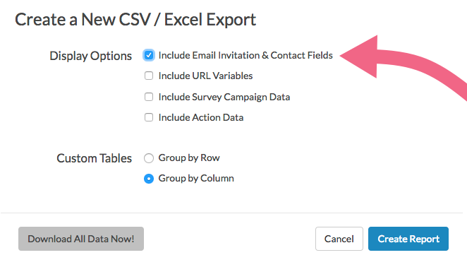 Include Contact Data In Exports