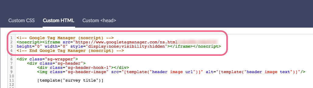 Install Second Google Tag Manager Code in Custom HTML Tab