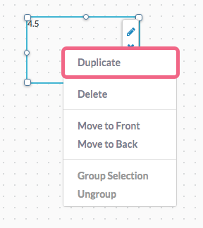Duplicate Calculation Element