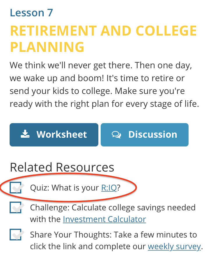 where can i find the retirement calculator help center