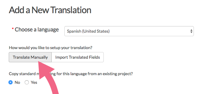 Translate Manually