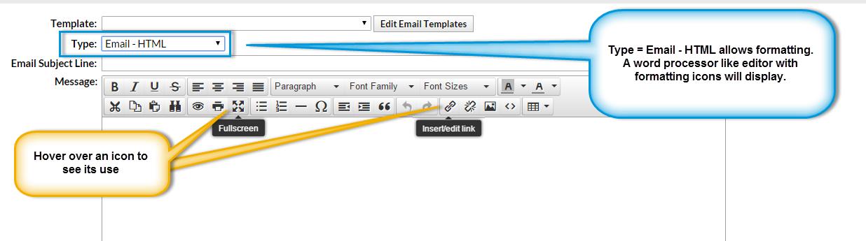 Email Type Html Or Plain Text Jackrabbit Help Center