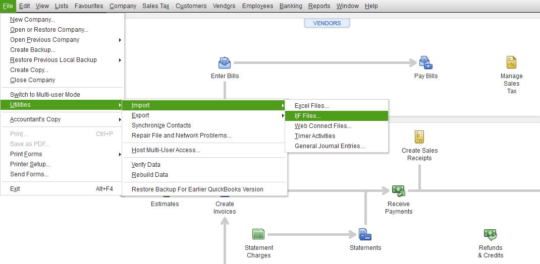 Import IIF File Revenue In QuickBooks Desktop Jackrabbit Help Center - Import iif file into quickbooks