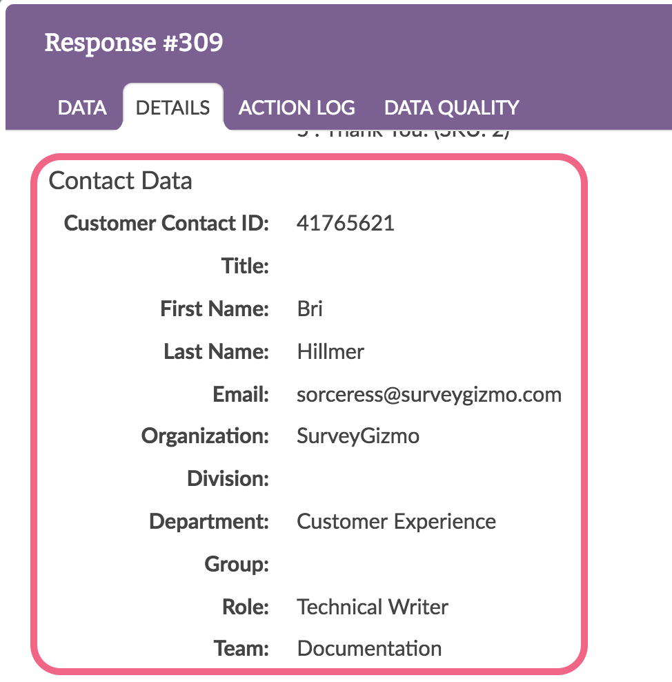 Identify Respondent Info Surveygizmo Help Inventionofthelightbulbdiagram Uploading Using Sendto Contact Data In Individual Responses
