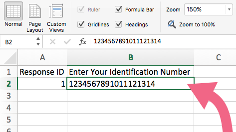 Imported Number Data