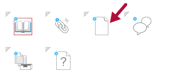 Indicates File placeholder icon in Course Builder