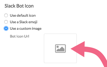 Use a custom image as Slack Bot Icon