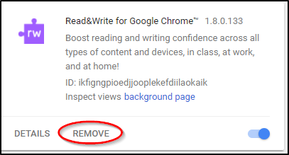 Read&Write for Google Chrome Extension