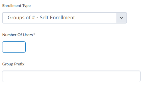 Image of enrollment type options