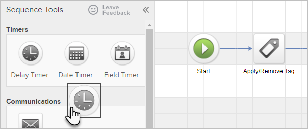 New Infusionsoft Delay Timers