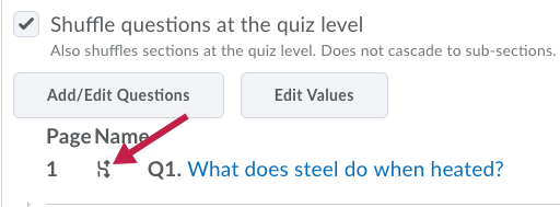 Indicates the Shuffle icon on a question.