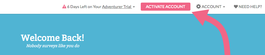 Activate Your Trial Account