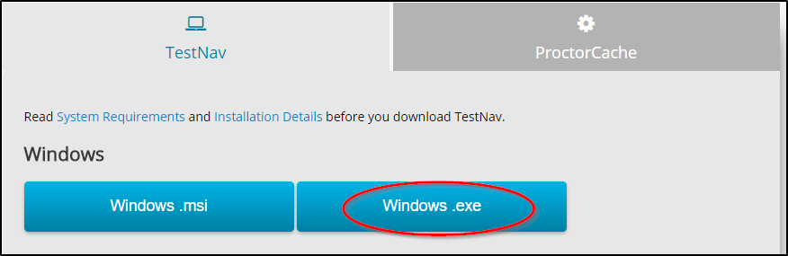 Select Windows.exe