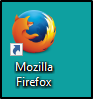 Mozilla Firefox Desktop Shortcut Icon