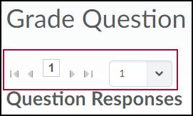 Questions responses tool.
