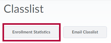 Displays Enrollment Statistics button